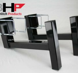 BHP Clamp On Sled Stops - BEHIND Roll Pan